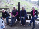 Charles, Robin, Sue & Margaret Macaulay at Cave Tour
