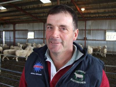 Australian Southdown Breeder Graeme Dehnert
